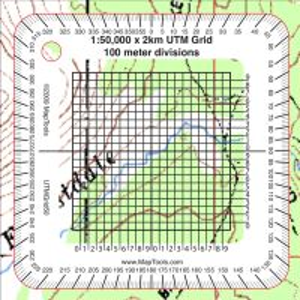 UTM Grid - 50k
