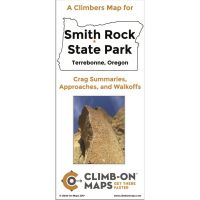 A Climber's Map For: Smith Rock State Park: Crag Summaries, Approaches, And Walkoffs
