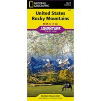 Adventure Travel Map: Rocky Mountains