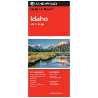 Rand Mcnally: Easy To Read: Idaho State Map