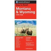 Rand Mcnally: Easy To Read: Montana