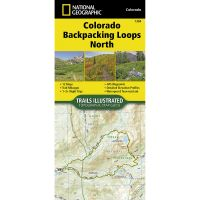 Trails Illustrated Map: Colorado Backpack Loops North
