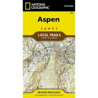 Trails Illustrated Map: Aspen Local Trails