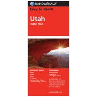 Easy To Read: Utah State Map