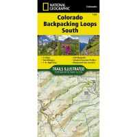 Trails Illustrated Map: Colorado Backpack Loops South