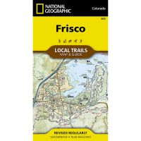 Trails Illustrated Map: Frisco Local Trails
