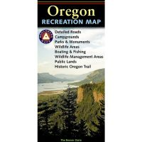 Benchmark Recreation Map: Oregon