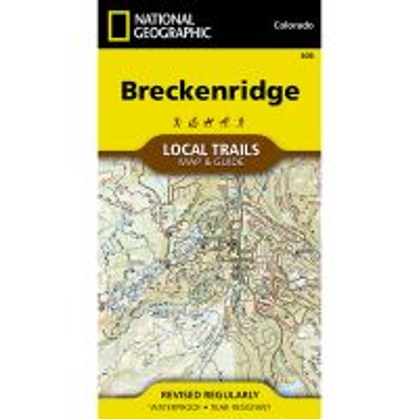 Trails Illustrated Map: Breckinridge Local Trails