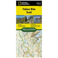 Trails Illustrated Map: Tahoe Rim Trail