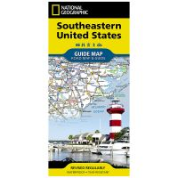 Guide Map: Southeastern USA Road Map & Travel Guide