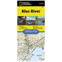 Fishing and River Map: Blue River
