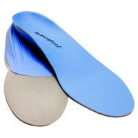 Blue Hiking Insoles - Low Profile