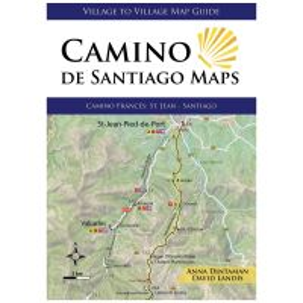 Camino De Santiago Maps: Camino Frances: St. Jean - Santiago