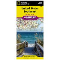 Adventure Travel Map: Southeast