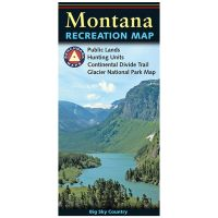 Benchmark Recreation Map: Montana - 2019 Edition