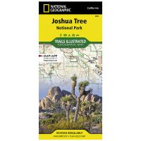 Trails Illustrated Map: Joshua Tree National Park - 2019 Edition