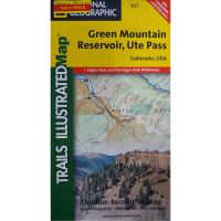 Trails Illustrated Map: Green Mountain Reservoir/Ute Pass