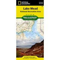 Trails Illustrated Map: Lake Mead National Recreation Area