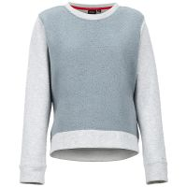 Crew Neck Sherpa Sweatshirt