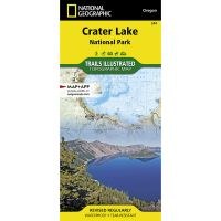 Trails Illustrated Map: Crater Lake National Park