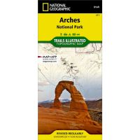 Trails Illustrated Map: Arches National Park