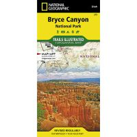 Trails Illustrated Map: Bryce Canyon National Park - 2019 Edition