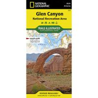 Trails Illustrated Map: Glen Canyon National Recreation Area - 2019 Edition