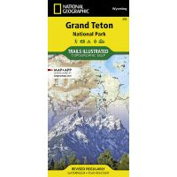 Trails Illustrated Map: Grand Teton National Park - 2019 Edition