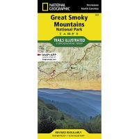 Trails Illustrated Map: Great Smoky Mountains National Park