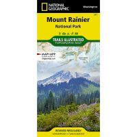 Trails Illustrated Map: Mount Rainier National Park