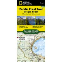 Trails Illustrated Map: Pacific Crest Trail: Oregon South: Willamette Pass To Siskiyou Summit