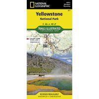 Trails Illustrated Map: Yellowstone National Park