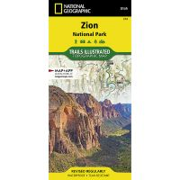 Trails Illustrated Map: Zion National Park