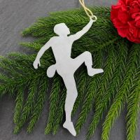 Rock Climber Male Ornament