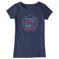 Little & Fierce Crusher Tee Short Sleeve