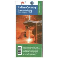 AAA Guide To Indian Country Map