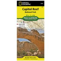 Trails Illustrated Map: Capitol Reef National Park