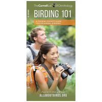 Cornell Lab Of Ornithology: Birding 101: A Folding Pocket Guide For Beginning Birders