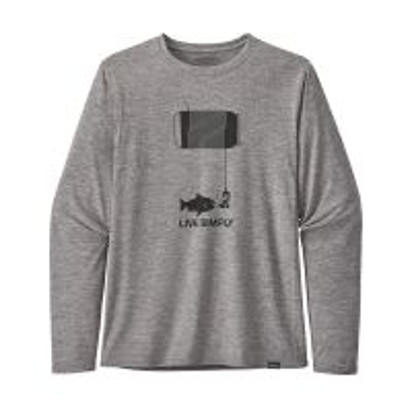 Long Sleeve Capilene Cool Daily Graphic Shirt