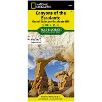 Trails Illustrated Map: Canyons of the Escalante - Grand Staircase-Escalante National Monument