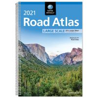 Rand Mcnally: Road Atlas: Large Scale - 2021