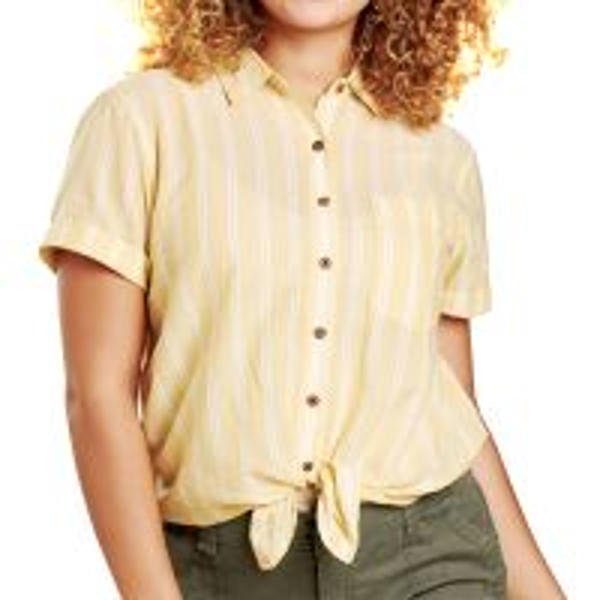 Airbrush Tie Short Sleeve Shirt