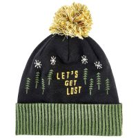Let's Get Lost Pom Beanie