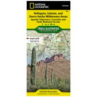 Trails Illustrated Map: Hellsgate, Salome, and Sierra Ancha Wilderness Areas: Apache-Sitgreaves, Coconino