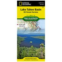 Trails Illustrated Map: Lake Tahoe Basin: Us Forest Service
