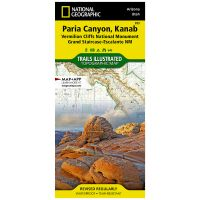 Trails Illustrated Map: Paria Canyon, Kanab - Vermillion Cliffs National Mounument/Grand Staircase-Escalante National Monutment