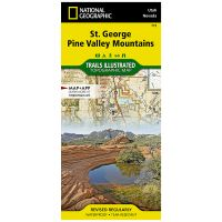 Trails Illustrated Map: St. George, Pine Valley Mountains