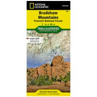 Trails Illustrated Map: Bradshaw Mountains - Prescott National Forest