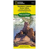 Trails Illustrated Map: Sycamore Canyon/Verde Valley - Coconino, Kaibab
