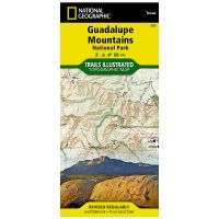 Trails Illustrated Map: Guadalupe Mountains National Park